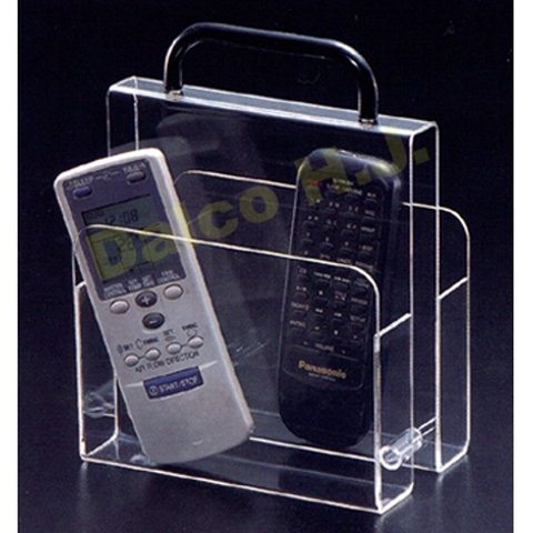 ACRYLIC T.V. GUIDE / CLICKER / REMOTE CONTROLER CADDY / BOX / ORGANIZER
