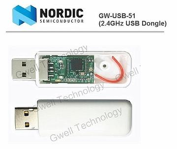 Taiwan Nordic USB Dongle nRF51822 | GWELL TECHNOLOGY CO , LTD