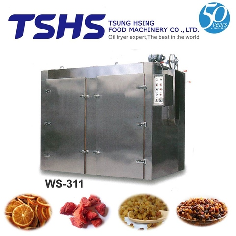 High Working Industrial Box Type Meat Drying Plant
