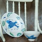 Hand-Painted Ceramic Ware, Hand-Painted Ceramic Plate/Bowl, Dinner Sets
