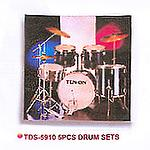 5Pcs Drum Sets