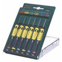 6 PCS Precision Screwdr..