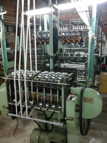 Sell tap weaving machine -used