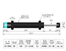 HYDRAULIC SHOCK ABSORBERS FC SERIES