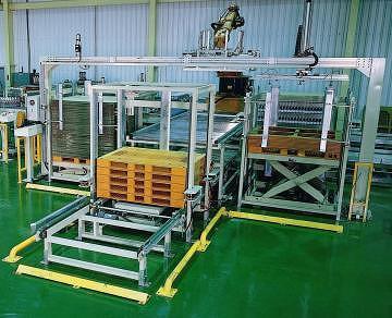 Pallet accumulation system