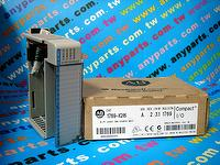 PLC-ALLEN BRADLEY 1769-IQ16 INPUT MODULE 16PT 24VDC SINK/SOURCE COMPACT LOGIX