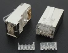 Modular Plugs Cat-6 RJ45 Shading