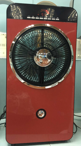 Taiwan Multifunctional water misting fan with LCD display
