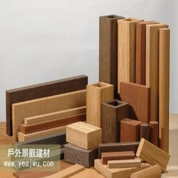 Taiwan plastic wood plastic lumber non wpc outdoor for Plastic building materials