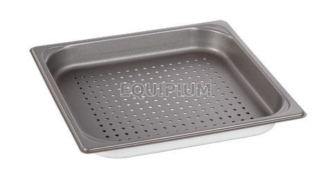 2/3GN Nonstick Perforated Pan H:40mm