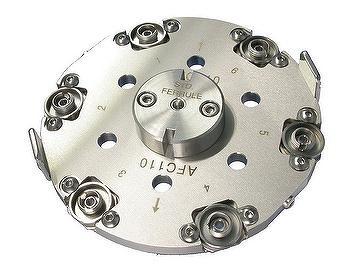 FC/AP 光纤研磨夾具; 6孔座