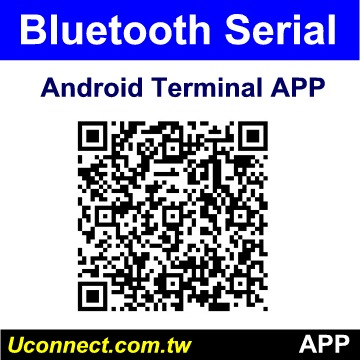 Bluetooth RS-232 adapte Android Terminal  APP, Bluetooth RS2