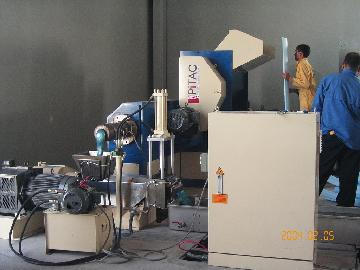 Pitac Plastic Foam Recycling& Pelletizing Machine