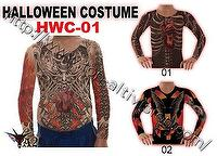 Halloween Costume, Tattoo Clothing ,Tattoo Shirt