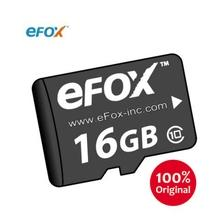 Taiwan High Quality eFOX 16G 32G Memory Card with Adapter