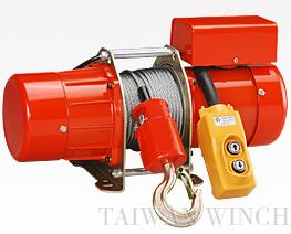 small electric winch