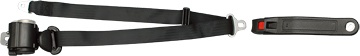 3-Point Seat Belt with Emergency Locking Retractor