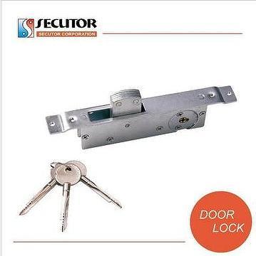 Cross Key Sliding Hidden Door Lock For Aluminium Door