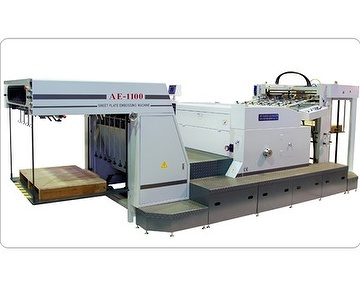 Auto Sheet plate embossing machine