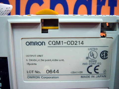 OMRON OUTPUT UNIT CQM1-OD214 New Original boxed