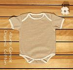 Organic Cotton Summer Baby romper-High cut