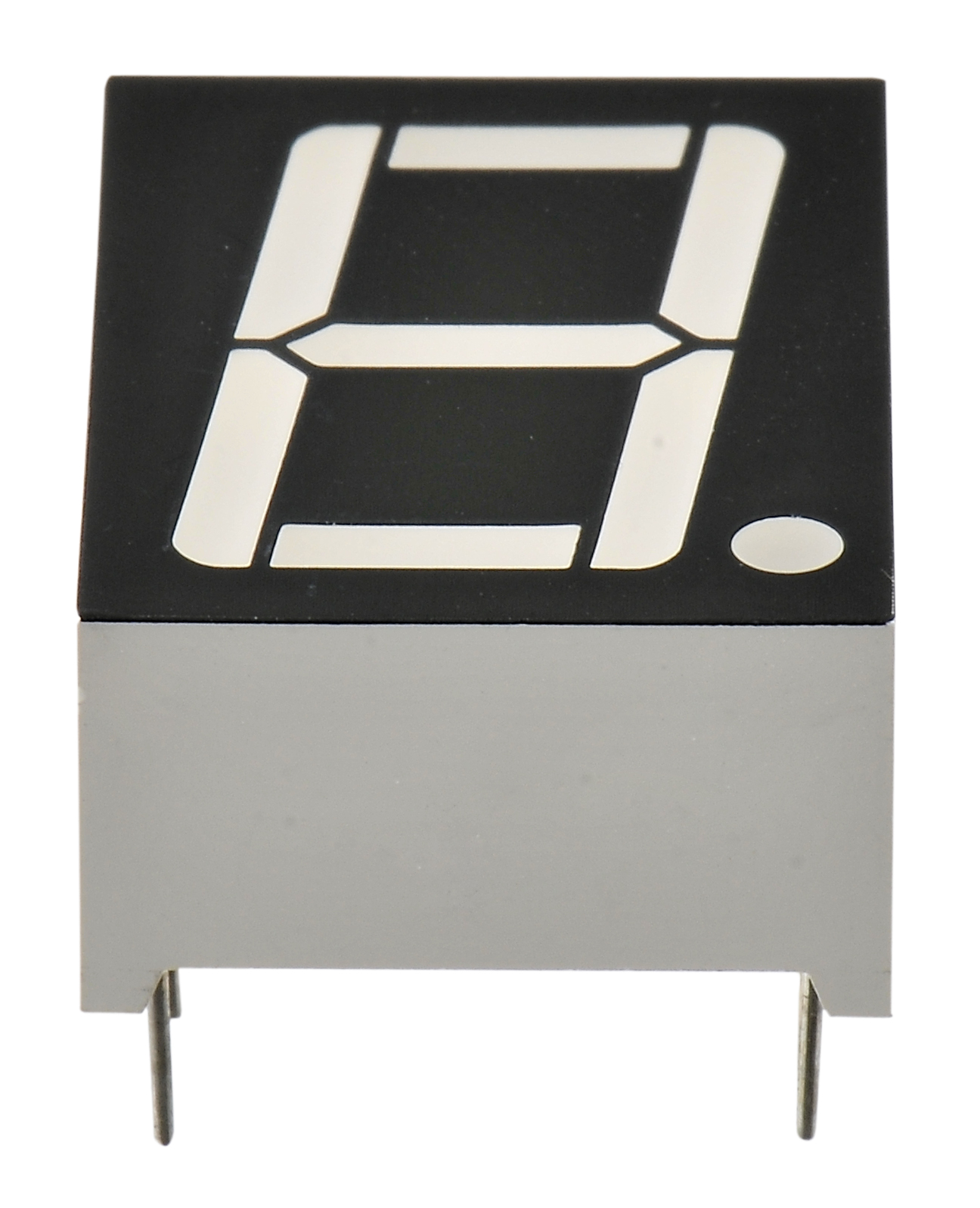 Taiwan Led Display 7 Segment Single Digit Yellow Green Colour The Each Symbol Into 7segment It May Look Like This