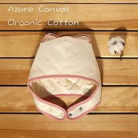 Organic Cotton baby wrap hat