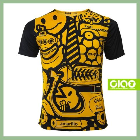 Taiwan 3D Digital printing Soft hiking kid indonesia Strides t shirt