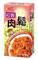 Fried Pork Floss (Red Yeast Rice)