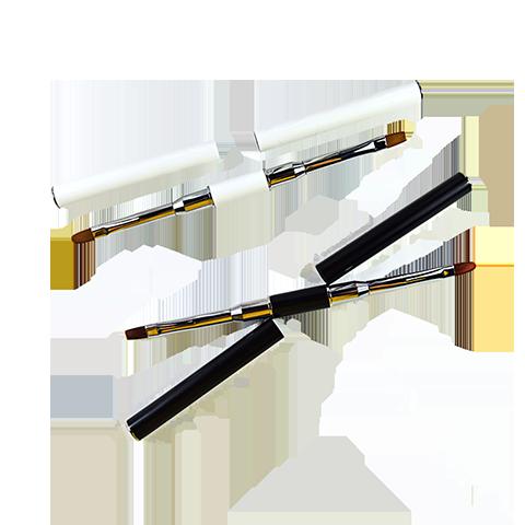 Double end nail art brush