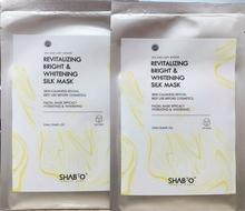 REVITALIZING BRIGHT & WHITENING SILK MASK