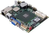 Pico-ITX motherboard with Intel® Atom™ Solution