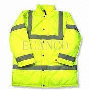 Hi-Viz,High Visibility Protection EN471 Class 3 Site Jacket PFHV1