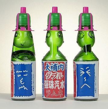 Taiwan Marble Soda Drink In Glass Bottle Ai Shin Machine