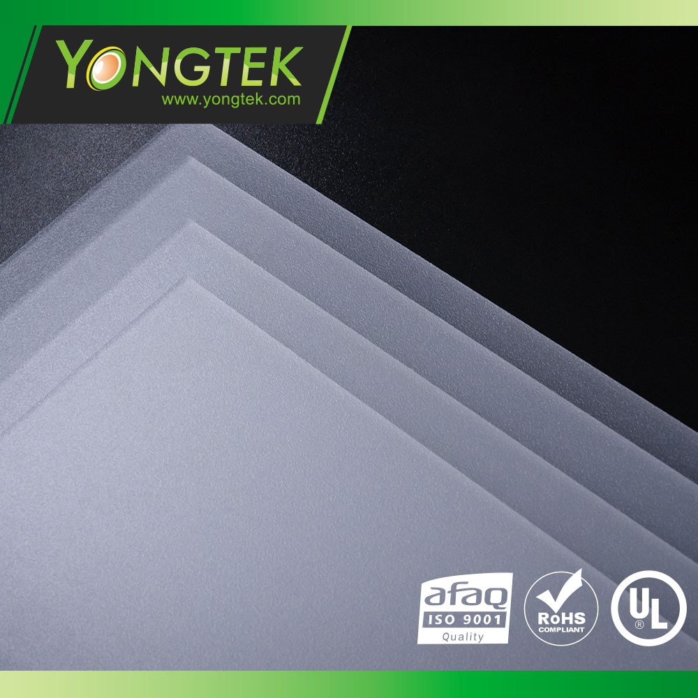 Taiwan PA-90S Matte/Frosted surface LED diffuser | YONGTEK CO , LTD