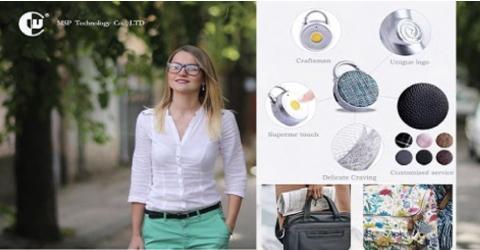 Fingerprint lock for carry bags
