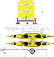 Kayak(or Canoes) trailer