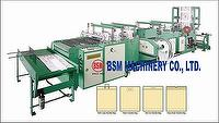 SOFT LOOP, PATCH, POLY DRAW , DIE CUT HANDLE BAGS MAKING MACHINE