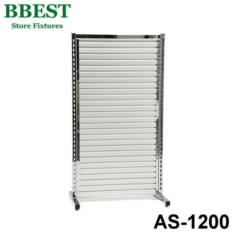 Aluminum Slatwall Display Stand