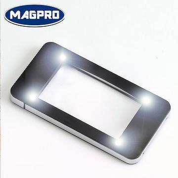 iPhone様式ライト付きルーペ