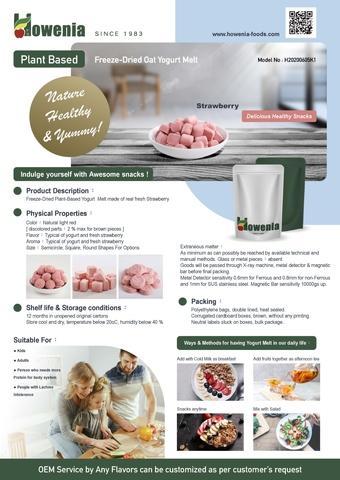Freeze Dried Oat Yogurt Melt