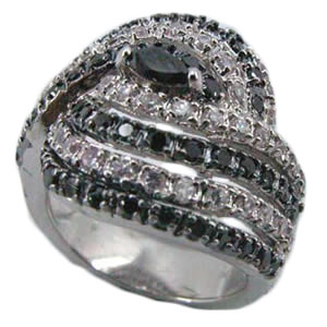Custom & Fashion Jewelry, mounted with CZ, crystals or semi-precious stones, real jewelry quality