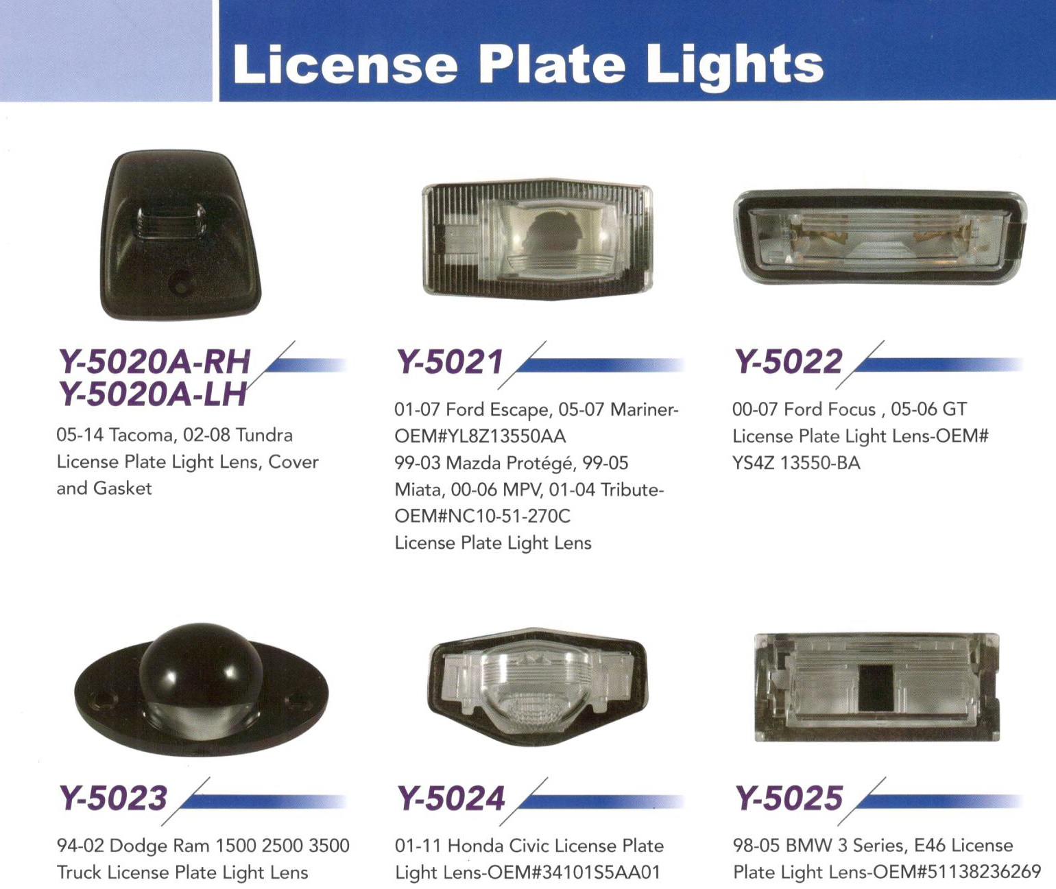 License Plate Light J Mark Technology Co Ltd