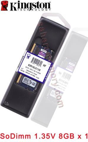 KVR16LS11/8  DDR3 1600 8GB SODIMM 1.35V DRAM Memory Modules