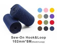 "102mm(4"") Width 5 Pair Meters Sew-On Hook & Loop"