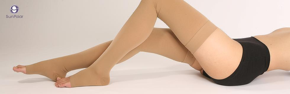 SUNPOLAR - Medical Compression Thigh-high Open-toe
