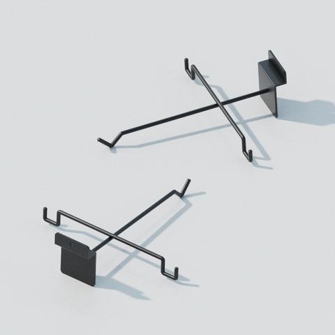 Eyewear Display Hook for Slatwall / EYEHK-020B