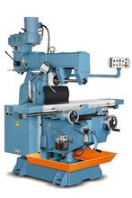 Vertical and Horizontal Heavy-Duty Turret Milling Machine