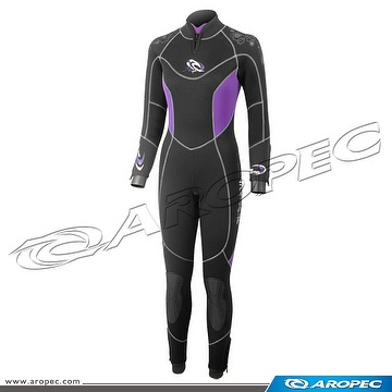 7/5mm Nylon/Super-Stretch 2PC wetsuit for Lady,