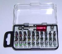 32 pieces Color-Coded Screwdriver Bits Set